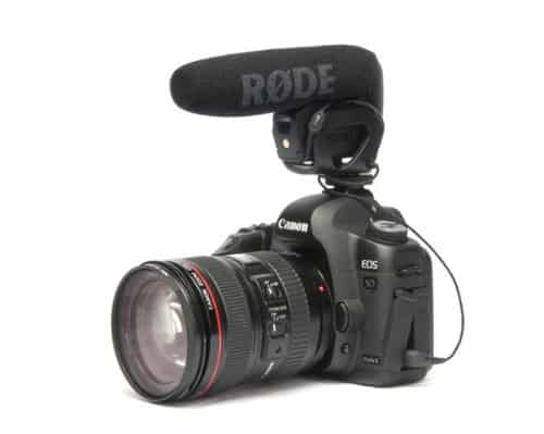 Rode VMP Shotgun Video Pro best camera microphone