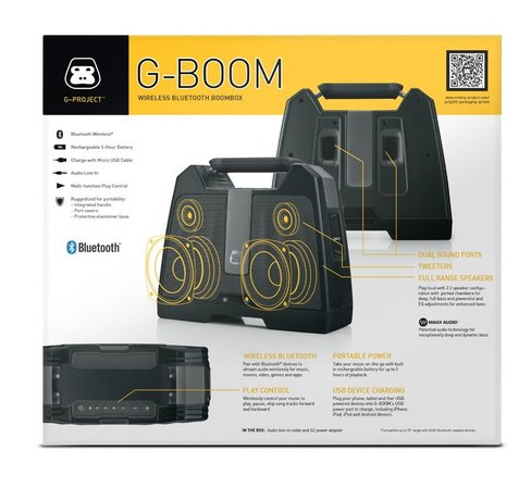 G-PROJECT G-BOOM best wirless bookshelf speakers