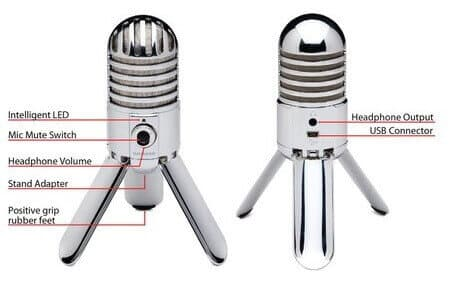 Samson Meteor best usb microphone