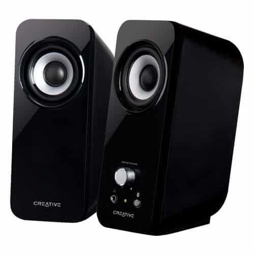 these stylish stereo speakers able to give you ultimate audio experience with its two 34mm quality drivers best office speakers