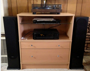 Amplifier with Speakers